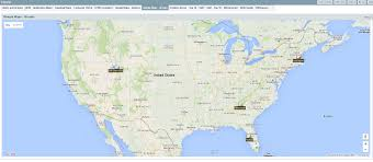 A United States Map by Google Maps Of United States Diagrams Free Printable Images