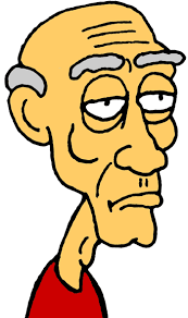 Old Man In Rocking Chair Little Old Man Clipart 22