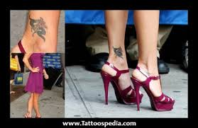 inside ankle tattoos for women