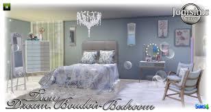 chambre boudoir chambre adolescent sims 4