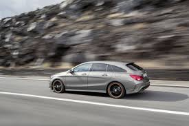mercedes cla shooting brake almost as big as the c class t model