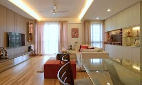 Indian Crib  Cozy Modern Home In Singapore Developed For An - Indian apartment interior design ideas