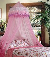 amazon com bed canopy tent for girls pink mosquito net curtains