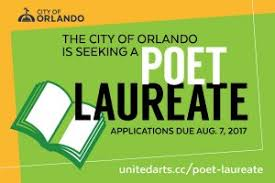 Seeking Orlando Seeking Orlando S Poet Laureate City Of Orlando Office Of