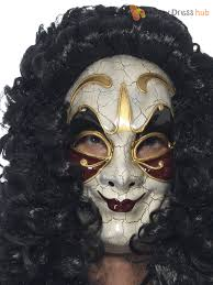 mens gothic venetian eye face mask evil halloween masquerade ball