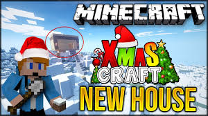 minecraft building my house christmascraft smp 3 youtube
