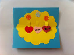 kid friendly crafts diy pop up mother u0027s day card craft sunday