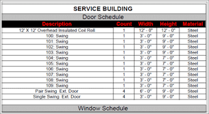 Take Sheet Template Construction Take Sheets Door And Window Take Sheets