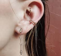 ear piercing hoop conch ear piercing all about conch piercings