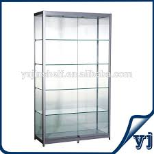 lockable glass display cabinet showcase lockable glass cabinet furniture ideas