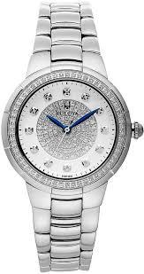diamond stainless steel bracelet images Bulova diamond stainless steel bracelet watch 34mm 96r168 where jpg