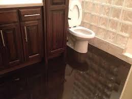 concrete bathroom floor bathroom concrete floor with dark color
