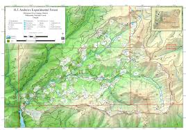 maps h j experimental forest oregon state