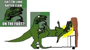 Meme Raptor - image 209704 philosoraptor know your meme