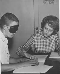 History Of The Blind Braille Iowa Department For The Blind