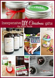inexpensive diy gift ideas the house