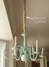 Hanging Heavy Chandelier Best 25 Chandelier Chain Ideas On Pinterest Diy Chandelier