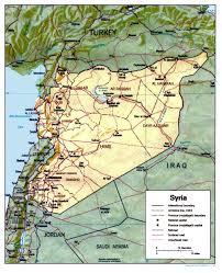 Map Syria by Syria Syrian Arab Navy