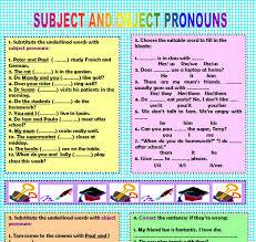 u0026 object pronouns