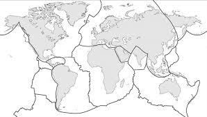 How To Draw The World Map by 10 4 Plates Plate Motions And Plate Boundary Processes