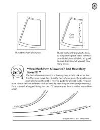 how to draft gored skirts for period costumes sempstress