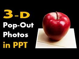 tutorial powerpoint design how to make 3d pop out photos in powerpoint design animation