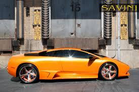 Lamborghini Murcielago Back - murcielago savini wheels