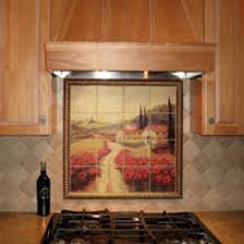 kitchen mural backsplash tile murals