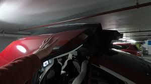 a close call with the tesla model x doors in a parking garage a close call with the tesla model x doors in a parking garage