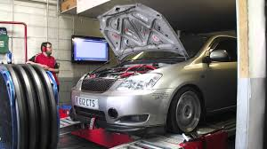 toyota corolla t sport parts toyota corolla t sport stage 2 cams 2zz det3 rolling road dyno