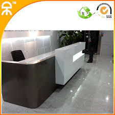Commercial Reception Desk 3meter 9 8 Ft Luxury Commercial Exhibition Reception Desk With