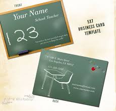 business cards for teachers 48 free psd format free