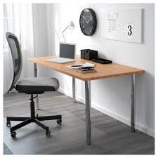 Ikea Desk Adjustable Height by Gerton Leg Adjustable Chrome Plated Ikea