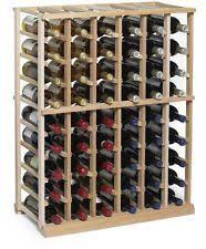 mahogany free standing wine racks u0026 bottle holders ebay