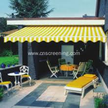 Retractable Folding Arm Awning Awning With Full Cassette Awning With Steel Construction