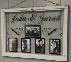 vintage window single pane picture frames by vaughncustomcreation