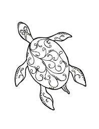 turtle coloring pages coloring rocks