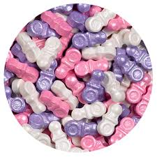 pacifier shaped candy shimmer girl mix pacifiers sweet shapes candies 2 lb bulk bag