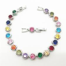 multi colored stones bracelet images Multicolor gemstone bracelet best bracelets jpg