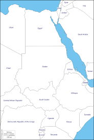 Map States Nile Free Map Free Blank Map Free Outline Map Free Base Map