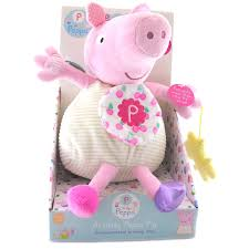 Peppa Pig Plush Peppa Pig Large Activity Plush Choice Of Characters One Supplied New