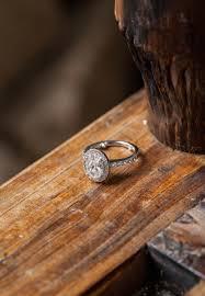 diamond wood rings images Engagement rings 17 diamond rings from real brides inside weddings jpg