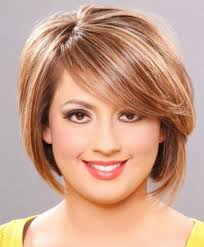 pictures of bob hairstyle for round face thin hair hairstyles round face thin hair