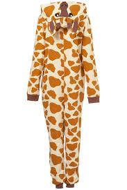 topshop giraffe novelty all in one in orange lyst