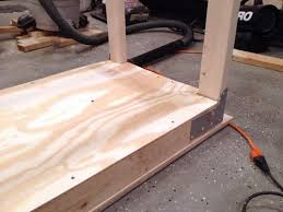 how to make a work bench the art of manliness