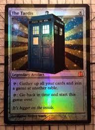 doctor who mtg cards search joke mtg deck