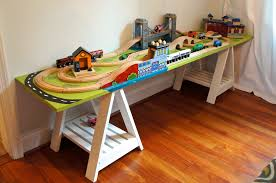 Kids Activity Desk And Chair by Train Table Ikea Roadside Raider Ikea Play Kitchen Hack Painted