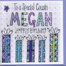 cousin birthday card personalised cousin birthday card by sowden design