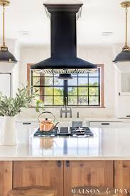 black and white kitchen framed pictures black windows and other window trends maison de pax