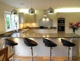 exemple de cuisine en u model de cuisine americaine la cuisine en u avec bar voyez les